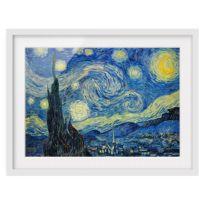 Impression d'art la nuit étoilée II