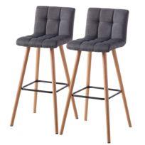 Chaises de bar Panola (lot de 2)