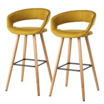Chaises de bar Volda (lot de 2)