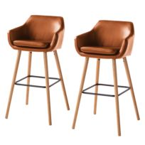 Chaises de bar Nicholas I (lot de 2)