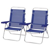 Chaises de jardin Ocean (lot de 2)