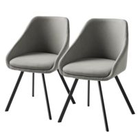 Chaises à accoudoirs Melbu (lot de 2)