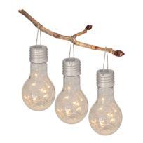 LED-solarhanglamp Venedig (3-delige set)
