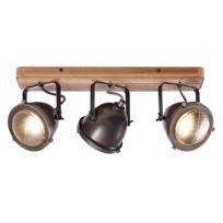 Plafondlamp Carmen Wood I