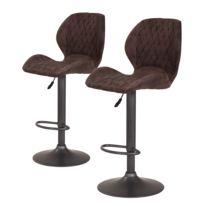 Chaises de bar Ripley (lot de 2)