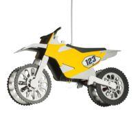 Hanglamp Motocrossmaschine