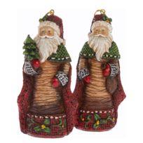Kerstboomhangers Nikolaus (2-delig)