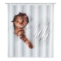 Douchegordijn Cute Cat