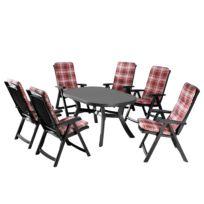 Table et chaises Santiago (13 éléments)