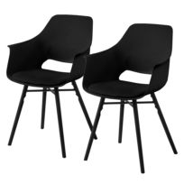 Chaises à accoudoirs Camara (lot de 2)