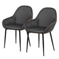 Chaises à accoudoirs Kia (lot de 2)