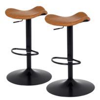 Chaises de bar Zeb (lot de 2)