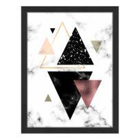 Tableau déco Triangles