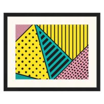 Afbeelding Pink Yellow & Green