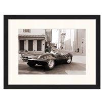 Tableau déco Steve McQueen in Jaguar