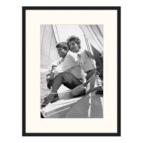 Bild John and Jackie Kennedy