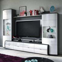 Ensemble meubles TV Mury (4 éléments)