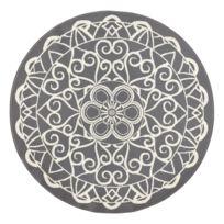 Laagpolig vloerkleed Mandala