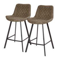 Chaises de bar Epra (lot de 2)