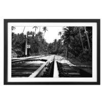 Tableau déco Jungle Train