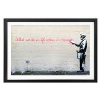 Tableau déco Banksy No. 17
