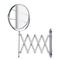 Uittrekbare make up spiegel