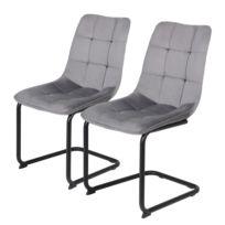 Chaises cantilever Seline (lot de 2)