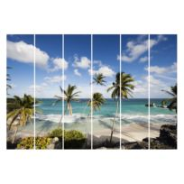 Schiebegardinen Barbados (6er-Set)