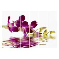 Schuifgordijnen Pink Orchid (6-delig)