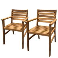 Sedia con braccioli Tibro (set da 2)