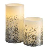 LED-Kerze Glowing Glitter