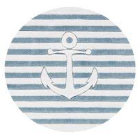 Kindervloerkleed Op Volle Zee 2 rond