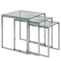 Table basse Unnau II (3 éléments)
