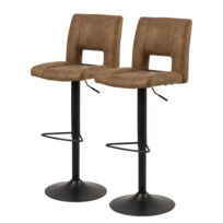Chaises de bar Selina (lot de 2)