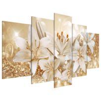 Acrylglasbild Golden Bouquet