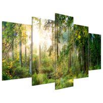 Tableau déco plexiglas Green Sanctuary