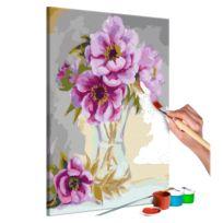 Malen nach Zahlen - Blumen in der Vase