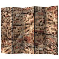 Kamerscherm Ancient Wall (5-delig)
