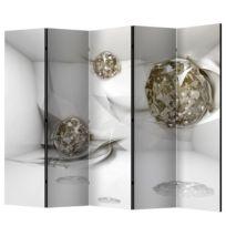 Kamerscherm Abstract Diamonds (5-delig)