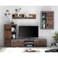 Ensemble meubles TV Nunda (4 éléments)