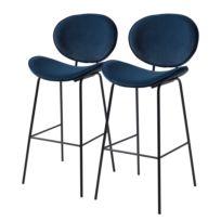 Chaise de bar Jerell (lot de 2)