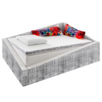Lit boxspring Crooked