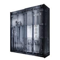 Schwebetürenschrank Container