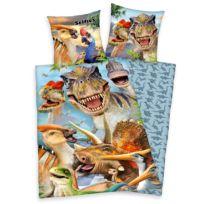 Parure de lit en renforcé dinosaure