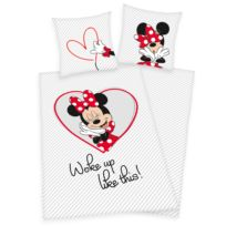 Renforcé beddengoed Minnie Mouse