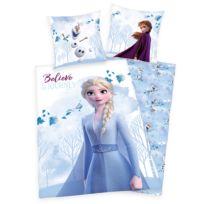 Parure de lit en renforcé Elsa et Anna 2