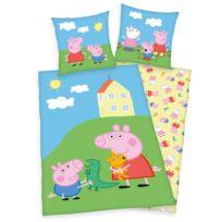 Parure de lit en renforcé Peppa Pig