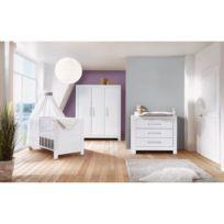 Chambre enfants Nordic White II (3 élém)