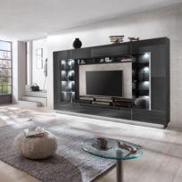TV-Wand Bylas (4-teilig)