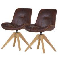 Gestoffeerde stoelen Wilbur (set van 2)